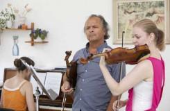 Už po dvacáté přijeli mladí houslisté za Václavem Hudečkem do Luhačovic