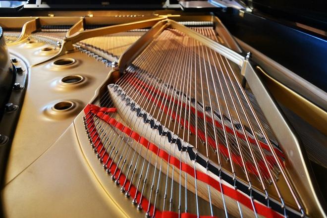 klavír - ilustrační foto (archiv)