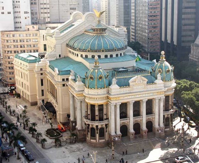 Theatro Municipal do Rio de Janeiro (foto archiv autora)