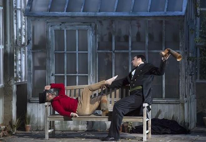 Wolfgang Amadeus Mozart: Le nozze di Figaro - Anna Prohaska (Sussana), Adam Plachetka (Figaro) - Salzburger Festspiele 2016 (foto © Salzburger Festspiele / Ruth Walz)