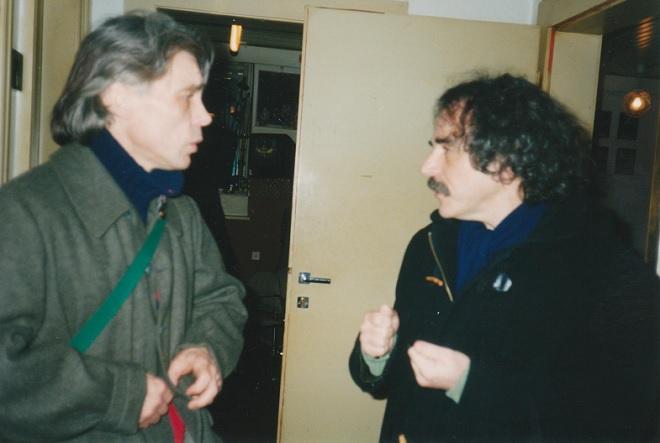 Marc Leclercq a Eugène Green (foto archiv)