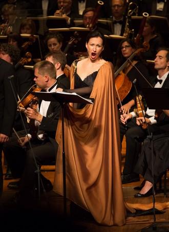 Dana Burešová jako Marina (foto Kathy Wittman/Odyssey Opera)