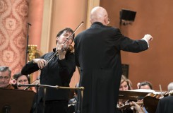 Zahajovací koncert 121. sezony České filharmonie - Joshua Bell, Jiří Bělohlávek - Rudolfinum Praha 2016 (foto Petra Hajská)