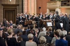 Zahajovací koncert 121. sezony České filharmonie - Česká filharmonie, Joshua Bell, Jiří Bělohlávek - Rudolfinum Praha 2016 (foto Petra Hajská)