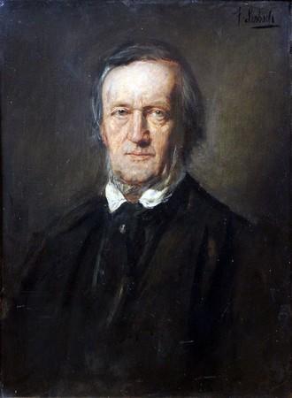 Richard Wagner - autor F. Lenbach, 1895 (zdroj commons.wikimedia.org/Anagoria)