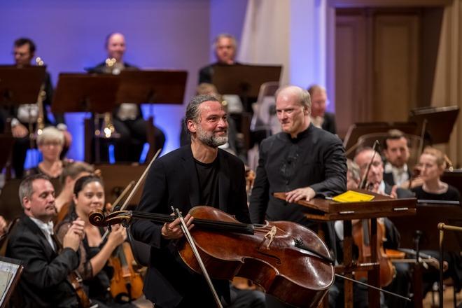 Dvořákova Praha 2016: London Symphony Orchestra, Jiří Bárta, Gianandrea Noseda - Rudoflinum Praha 2016 (foto Martin Divíšek)