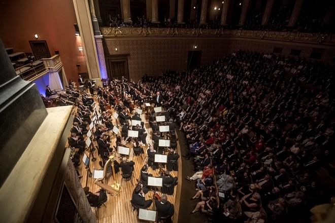 Dvořákova Praha 2016: Dvořák Colection III - Jiří Bělohlávek, Česká filharmonie - Rudolfinum Praha 2016 (foto Martin Divíšek/Dvořákova Praha)
