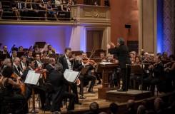 Dvořákova Praha 2016 - Orchestra dell'Accademia Nazionale di Santa Cecilia, Gil Shaham, Antonio Pappano - Rudolfinum Praha 2016 (foto Martin Divíšek/Dvořákova Praha)