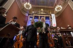 Dvořákova Praha 2016 - Antonio Pappano, Gil Shaham - Rudolfinum Praha 2016 (foto Martin Divíšek/Dvořákova Praha)