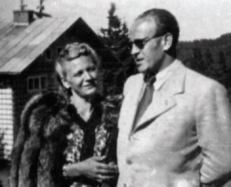 Emlie a Oskar Schindlerovi (foto archiv)