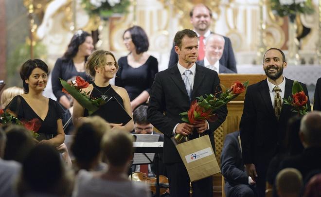 J. D. Zelenka: Psalmi Vespertini I - Gabriela Eibenová, Daniela Čermáková, Adam Viktora - Svatováclavský hudební festival 2016 (foto archiv SHF)