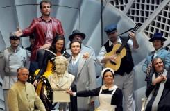 Gioachino Rossini: Il barbiere di Siviglia - Semperoper Drážďany (foto Matthias Creuziger)