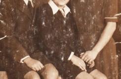 Miroslav Košler s bratrem a matkou (foto archiv M. Košlera)