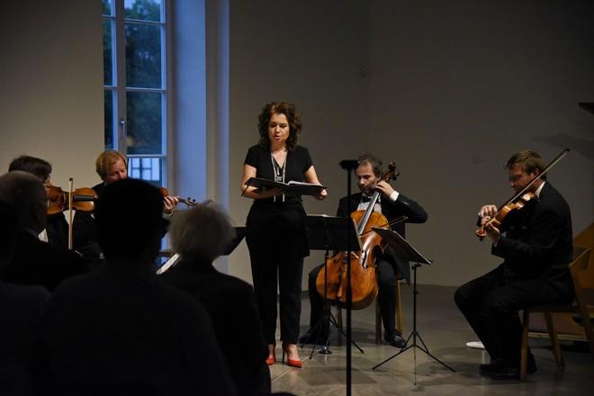 Procházky uměním 2016 - Zemlinsky Quartet a Eva Garajová - Muzeum Kampa (zdroj Procházky uměním)