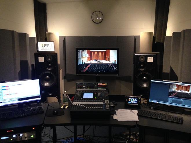 Recording Studio (foto archiv autora)