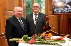 Brněnský basista Richard Novák převzal Cenu Antonína Dvořáka