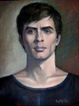 Rudolf Nurejev (autor Juan Bastos)