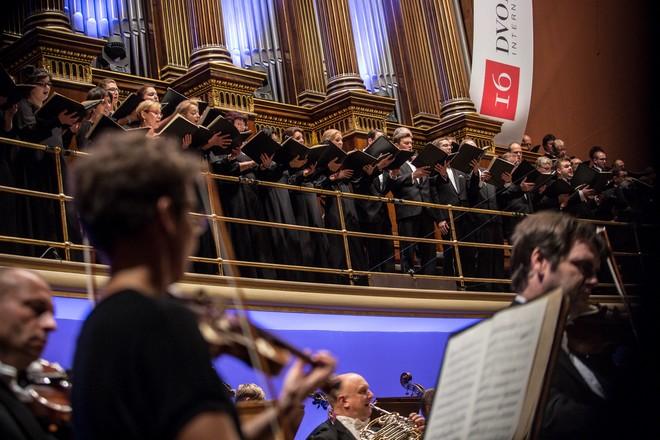 Dvořákova Praha 2016: Dvořák Colection III - Pražský filharmonický sbor, Česká filharmonie - Rudolfinum Praha 2016 (foto Martin Divíšek/Dvořákova Praha)
