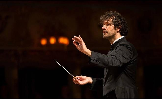 Zahajovací koncert Orchestra Filarmonica della Fenice 2016 - Eivind Gullberg Jensen - 12.9.2016 Benátky (foto © Walter Garosi)