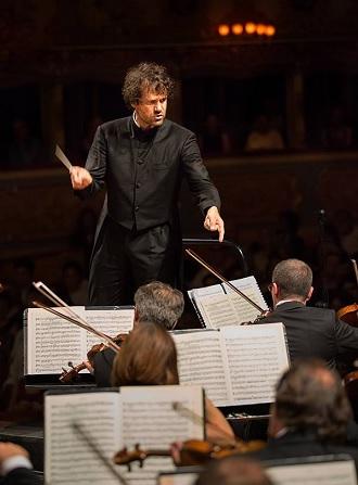 Zahajovací koncert Orchestra Filarmonica della Fenice 2016 - Eivind Gullberg Jensen, Orchestra Filarmonica della Fenice - 12.9.2016 Benátky (foto © Walter Garosi)