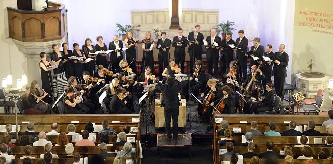 Collegium 1704: Bach - Zelenka - Collegium 1704, Collegium Vocale 1704, Václav Luks Svatováclavský hudební festival 2016 (foto Ivan Korč)