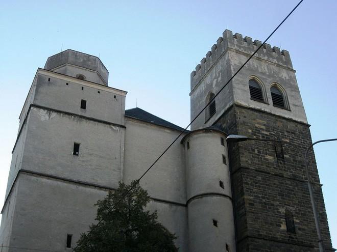 Chrám sv. Mořice Olomouc (zdroj commons.wikimedia.org/Lehotsky)