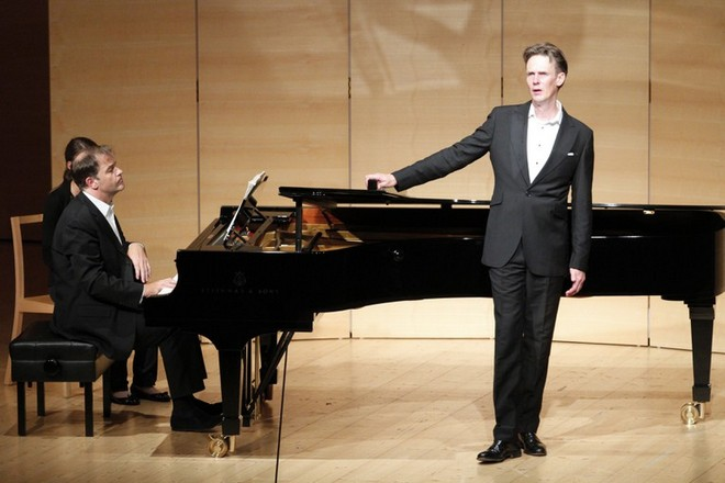 Ian Bostridge a Julias Drake (foto Schubertiade)