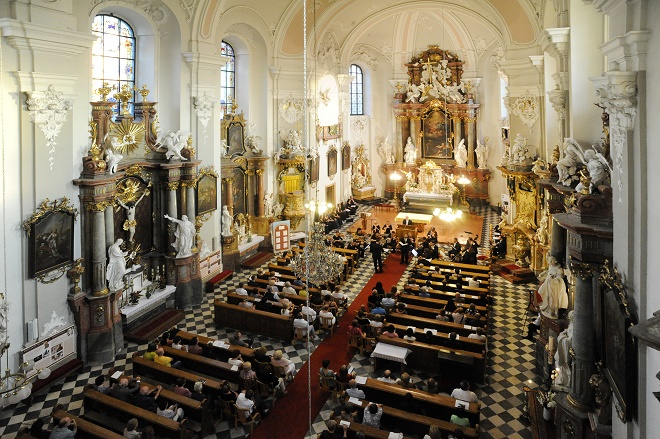 Kostel sv. Jana a Pavla Frýdek-Místek (foto archiv SHF)