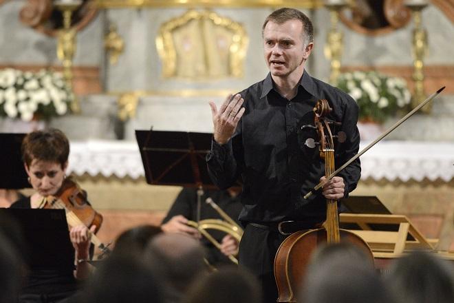 Lesk a virtuozita árií českého klasicismu - Marek Štryncl, Musica Florea - Svatováclavský hudební festival 2016 (foto Ivan Korč)