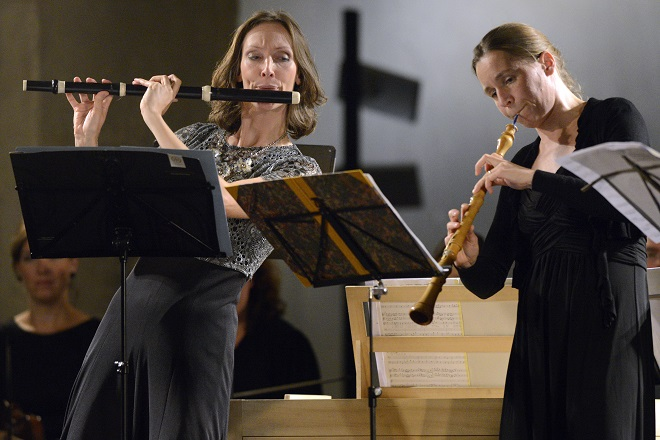 Simona Šaturová, Collegium Marianum - Gloria: Jana Semerádová, Luise Haugk - Svatováclavský hudební festival 21.9.2016 (foto Ivan Korč)