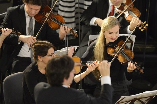 Collegium 1704: Bach - Zelenka - Václav Luks, Collegium 1704 - Svatováclavský hudební festival 2016 (foto Ivan Korč)