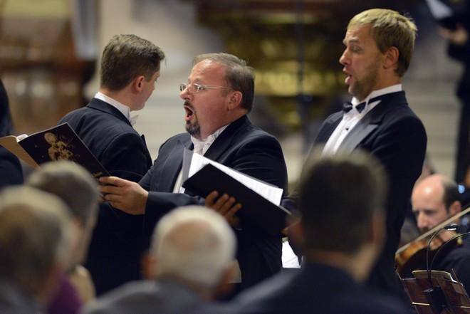Svatováclavský hudební festival 2016 - Jaroslav Březina, David Szendiuch - kostel Panny Marie Královny Ostrava 2016 (foto Ivan Korč/SHF)