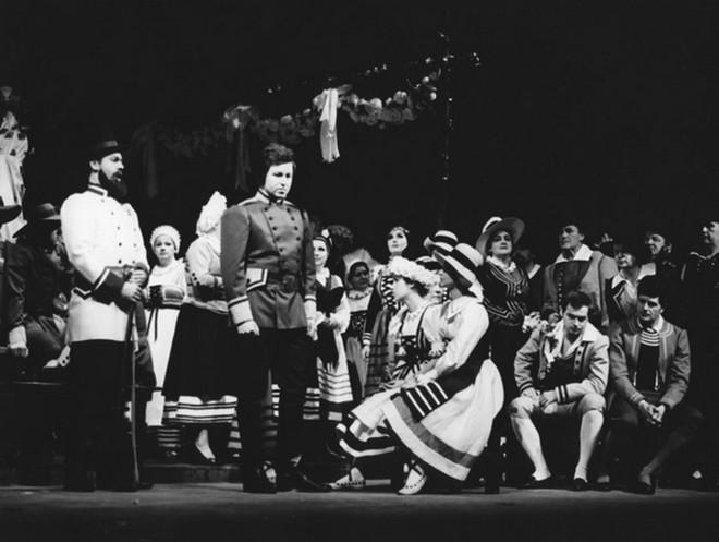 Carl Maria von Weber: Čarostřelec (režie: Jan Kačer) - Státní divadlo Ostrava 1979 (foto © Vladimír Dvořák/Divadelní ústav)