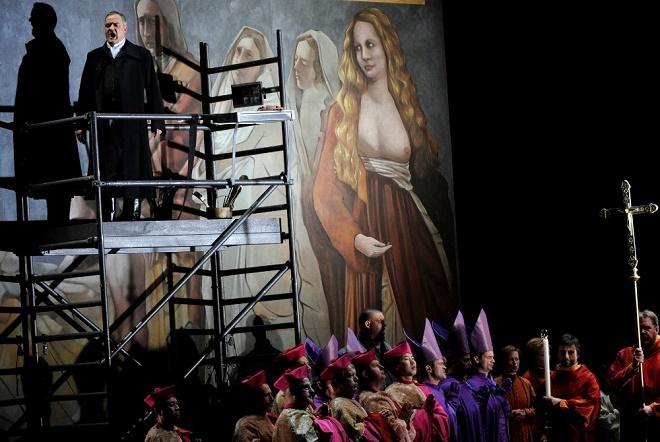 G. Puccini: Tosca - Semperoper Drážďany (foto Matthias Creutziger)