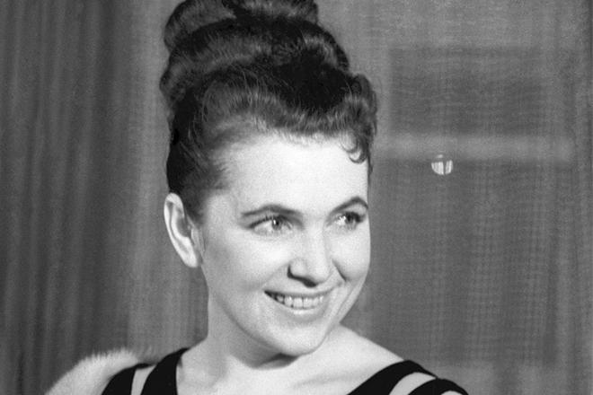 Galina Višněvskaja (foto archiv)