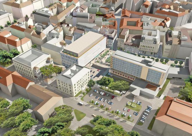 Janáčkovo kulturní centrum Brno - vizualizace (zdroj FB Sál pro Brno)
