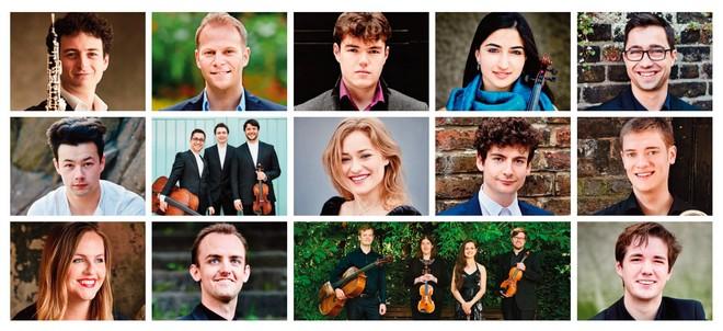Účastníci programu Sounding Board (foto FB Young Classical Artists Trust)