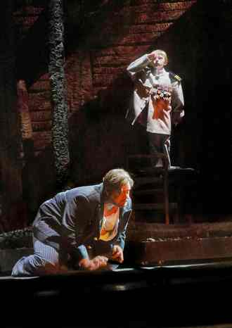 R. Wagner: Tristan und Isolde - Stuart Skelton (Tristan) - Met 2017 (foto Ken Howard)