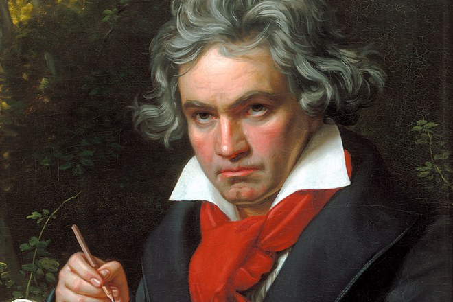 Ludwig van Beethoven portrét Josepha Karla Stielera, 1820 (foto archiv)