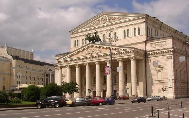 Boľšoj teater v Moskve (foto moskva.estranky.cz)