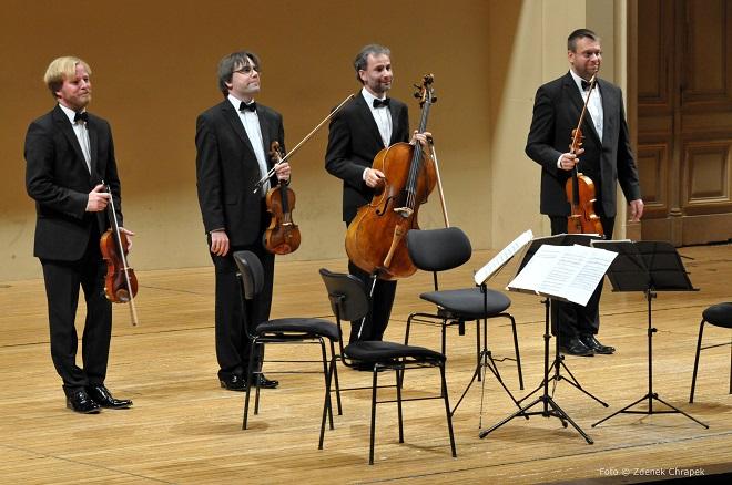 ČSKH - Zemlinsky Quartet - Praha 10.10.2016 (foto © Zdeněk Chrapek)