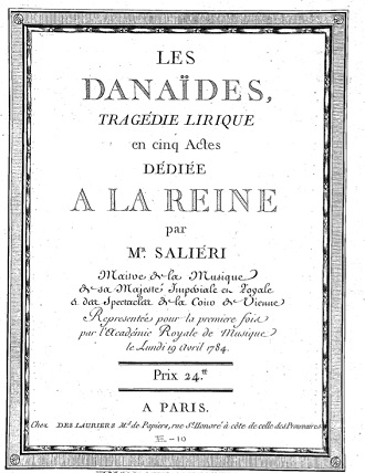 A. Salieri: Les Danaïdes (foto klassismi.wordpress.com)