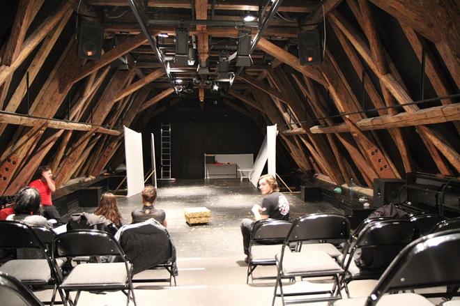 Divadelní sál K3 (foto upol.cz)