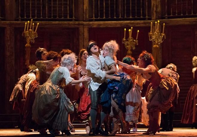 Wolfgang Amadeus Mozart: Don Giovanni - Metropolitan Opera New York 2016 (foto Marty Sohl)