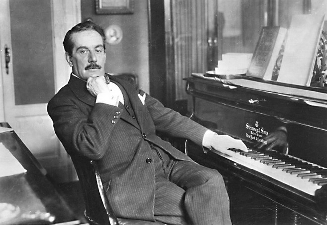 Giacomo Puccini (foto archív)