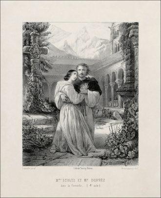 G. Donizetti: La favorite Rosine Stolz a Gilbert Duprez - 1840 (zdroj commons.wikimedia.org)
