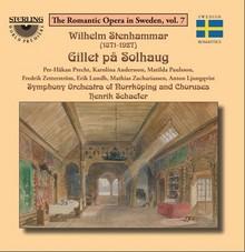 Wilhelm Stenhammar: Gillet på Solhaug (zdroj sterlingcd.com)