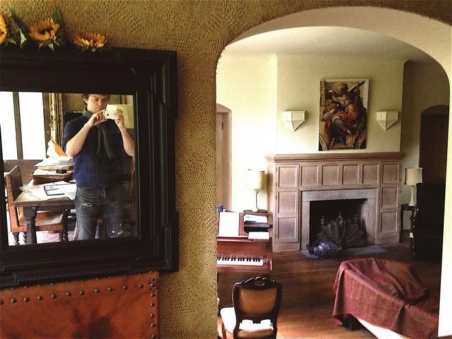 The House (uvnitř) - byly doby, kdy to tady žilo (foto archiv autora)