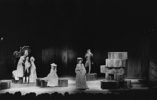 W. Shakespeare: Marná lásky snaha - Divadlo za branou 1970 (foto © Vilém Sochůrek)