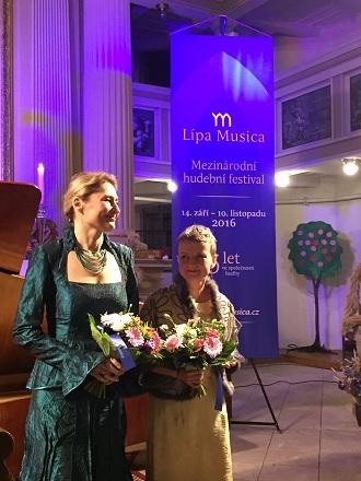 Milostná hra - Markéta Cukrová, Barbara Marie Willi - Lípa Musica 2016 (foto Lípa Musica)